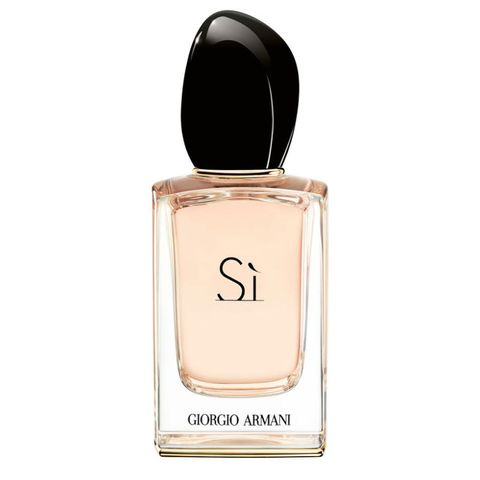 "<p>Delicate with a slightly sultry edge, this gourmand fusion of sensual vanilla, rose de mai, and patchouli is utterly intoxicating. ($90 for 1.7 oz;<a href=""http://www.giorgioarmanibeauty-usa.com/fragrances/womens-fragrances/si/si-eau-de-parfum/A218.html"" target=""_blank"" data-tracking-id=""recirc-text-link"">giorgioarmanibeauty-usa.com</a>)</p>"