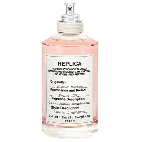 "<p>A spritz of this lush floral fragrance will transport you straight to a flower market where you're surrounded by a harmonious blend of freesia, grasse rose petal, and rich notes of jasmine and tuberose. ($125 for 3.4 oz; <a href=""http://www.barneys.com/product/maison-margiela-flower-market-503251980.html"" target=""_blank"" data-tracking-id=""recirc-text-link"">barneys.com</a>)</p>"