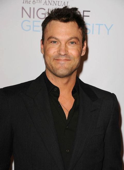 """<p>Did you know Brian Austin Green released a hip-hop album in 1996? Similar to his <em data-redactor-tag=""""em"""" data-verified=""""redactor"""">Beverly Hills, 90210</em><span class=""""redactor-invisible-space"""" data-verified=""""redactor"""" data-redactor-tag=""""span"""" data-redactor-class=""""redactor-invisible-space""""></span> character&nbsp;David Silve<span class=""""redactor-invisible-space"""" data-verified=""""redactor"""" data-redactor-tag=""""span"""" data-redactor-class=""""redactor-invisible-space"""">r, the actor took a stab at a music career. Even though it&nbsp;didn't take off, Brian continued to act after <em data-redactor-tag=""""em"""" data-verified=""""redactor"""">90210</em> wrapped, making guest appearances on everything from <em data-redactor-tag=""""em"""" data-verified=""""redactor"""">CSI</em>&nbsp;to <em data-redactor-tag=""""em"""" data-verified=""""redactor"""">Desperate&nbsp;Housewives</em>. He had larger roles in&nbsp;2005's <em data-redactor-tag=""""em"""" data-verified=""""redactor"""">Freddie</em> with Freddie Prinze, Jr. and&nbsp;2008's&nbsp;<em data-redactor-tag=""""em"""" data-verified=""""redactor"""">Terminator: The Sarah Connor Chronicles<span class=""""redactor-invisible-space"""" data-verified=""""redactor"""" data-redactor-tag=""""span"""" data-redactor-class=""""redactor-invisible-space""""></span></em><span class=""""redactor-invisible-space"""" data-verified=""""redactor"""" data-redactor-tag=""""span"""" data-redactor-class=""""redactor-invisible-space""""><em data-redactor-tag=""""em"""" data-verified=""""redactor"""">.&nbsp;</em><span class=""""redactor-invisible-space"""" data-verified=""""redactor"""" data-redactor-tag=""""span"""" data-redactor-class=""""redactor-invisible-space"""">Most recently, he starred with Charlie Sheen in FX's <em data-redactor-tag=""""em"""" data-verified=""""redactor"""">Anger Management</em>. Brian is&nbsp;often found in the tabloids, thanks to his <a href=""""http://www.usmagazine.com/celebrity-news/news/pregnant-megan-fox-and-brian-austin-green-are-back-together-w211587"""" target=""""_blank"""" data-tracking-id=""""recirc-text-link"""">on-again-off-again&nbsp;relationship</a> with actress Megan Fox. He and """