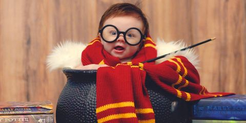 Eyewear, Vision care, Red, Costume, Fur, Woolen, Child model, Fictional character, Costume accessory, Knitting,