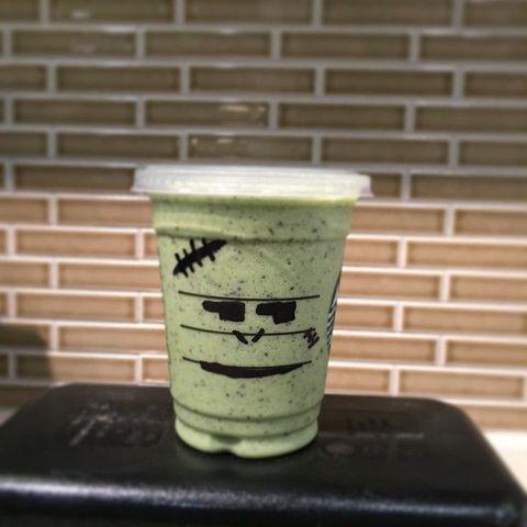 Green, Cup, Brick, Drinkware, Brickwork, Coffee cup sleeve, Tumbler, Cup, Building material, Soft drink,