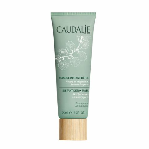 "<p>Apply a thin layer to detoxify your skin back to a clean slate, <em data-redactor-tag=""em"" data-verified=""redactor"">stat</em>.  Pink clay soaks up toxins, coffee clarifies, and papaya enzymes brighten. (Caudalie Instant Detox Mask, $39; <a href=""http://us.caudalie.com/instant-detox-mask.html"" target=""_blank"" data-tracking-id=""recirc-text-link"">caudalie.com</a>)</p><p><strong data-verified=""redactor"" data-redactor-tag=""strong"">RELATED: <a href=""http://www.redbookmag.com/beauty/anti-aging/reviews/g3732/best-anti-aging-face-mask/"" target=""_blank"" data-tracking-id=""recirc-text-link"">The Best Face Masks for Every Budget</a><span class=""redactor-invisible-space"" data-verified=""redactor"" data-redactor-tag=""span"" data-redactor-class=""redactor-invisible-space""><a href=""http://www.redbookmag.com/beauty/anti-aging/reviews/g3732/best-anti-aging-face-mask/""></a></span></strong><br></p>"