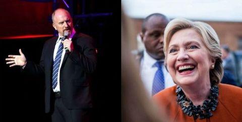 Louis CK Hillary Clinton