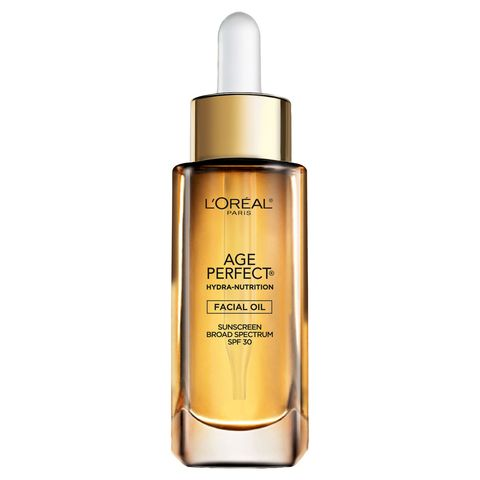 "<p>This ultra-luxe facial oil sinks right in, hydrates with eight essential oils (e<em data-redactor-tag=""em"">ight</em>!), smells divine, and contains SPF 30. Basically, it's the liquid gold of sunscreens. (L'Oréal Paris Hydra-Nutrition Facial Oil SPF 30, <span id=""selection-marker-1"" class=""redactor-selection-marker"" data-verified=""redactor"" data-redactor-tag=""span"" data-redactor-class=""redactor-selection-marker""></span>$19.99; <a href=""http://www.lorealparisusa.com/products/skin-care/products/face/age-perfect-hydra-nutrition-spf-30-facial-oil.aspx?shade=Hydra%20Nutrition%20SPF%2030%20Facial%20Oil"" target=""_blank"" data-tracking-id=""recirc-text-link"">lorealparisusa.com</a>) </p><p><strong data-redactor-tag=""strong"">RELATED: <a href=""http://www.redbookmag.com/beauty/anti-aging/g3245/essential-oils-for-skin/"" target=""_blank"" data-tracking-id=""recirc-text-link"">10 Multitasking Face Sunscreens You'll Actually Want to Wear</a><a href=""http://www.redbookmag.com/beauty/anti-aging/g3245/essential-oils-for-skin/""></a></strong><br></p>"