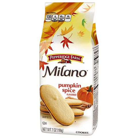 Pepperidge Farm Milano Pumpkin Spice Cookies