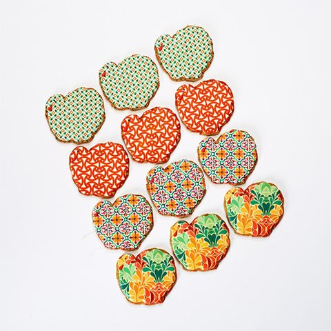Eleni's Patterned Turkey Cookies