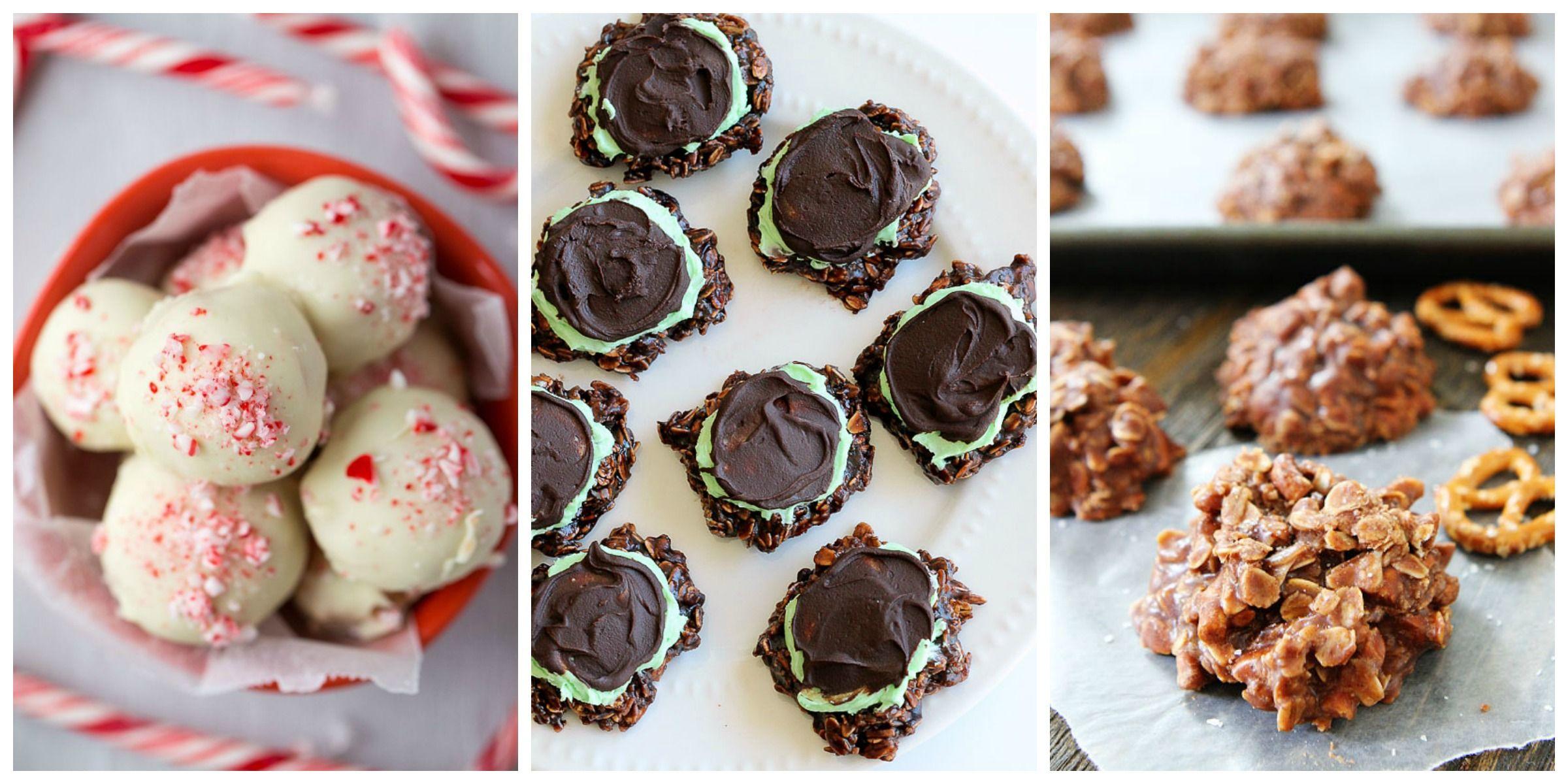 No-Bake Cookie Recipes - Easy Dessert Recipes