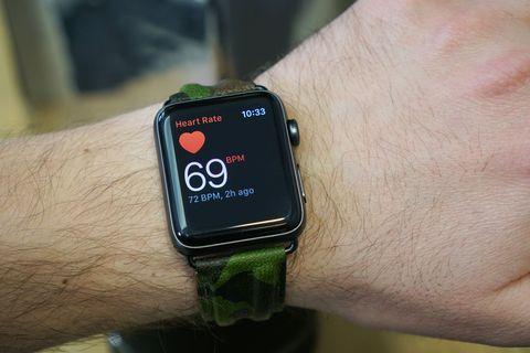 Apple Watch Series 2 display