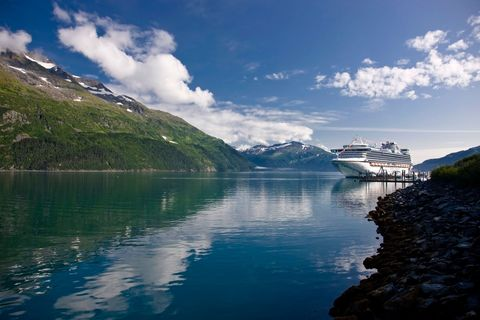 "<p><strong data-redactor-tag=""strong"">Cruise Line:</strong> Princess</p>  <p></p>  <p><strong data-redactor-tag=""strong"">Route: </strong>Seven days; round-trip leaving Seattle with one day at sea and stops in Juneau, AK; Skagway, AK; Glacier Bay National Park, AK; Ketchikan, AK; and Victoria, British Columbia. From $799.</p>  <p></p>  <p><strong data-redactor-tag=""strong"">At Sea: </strong>This trip is so full of jaw-dropping sights — massive glaciers, humpback whales, snowcapped mountains — that you'd be perfectly content staring out into the distance for seven days straight. But, seriously, don't do that. You'll want to take advantage of every activity, especially ones that are a nod to Alaskan history and culture, like cuddling sled dog puppies (puppies!) and meeting Libby Riddles, the first woman to win the grueling 1,100-mile Iditarod dogsled race (she hops on in Juneau). There's also an axe-throwing competition with an Alaskan lumberjack, but if that sounds kind of intense, learn to play the harmonica or find your Zen with an on-deck yoga class instead. At night, dine on king crab and grilled prawn skewers before singing in a karaoke competition inspired by <em data-redactor-tag=""em"">The Voice</em>. Not enough cocktails in the world to put a mic in your hand? You can grab a seat at ""Magic To Do,"" a magic show/musical hybrid developed by Stephen Schwartz, the guy who wrote the music for <em data-redactor-tag=""em"">Wicked</em>. End the night with a stargazing presentation that'll make cloudless nights a reason to get excited. Kids will love it, as well as the cool science projects that are part of the programs Princess developed with the Discovery Channel, Animal Planet, and TLC. This may be the only trip where the whole family will come back both relaxed <em data-redactor-tag=""em"">and </em>smarter.</p>  <p></p>  <p><strong data-redactor-tag=""strong"">On Land:</strong> Despite Elsa's absence, the whole family will find this region's glaciers completely magical. In Glacier Bay National Park, you'll spend a day surrounded by 11 massive bodies of ice; park rangers come on board to talk and answer questions. In Juneau, the 13-mile-long Mendenhall Glacier is easily visible (and striking) from the visitor center — a real treat, since the best views of glaciers are often via plane. Hike nearby trails to catch glimpses of eagles and mountain goats. In Ketchikan, check out the world's largest collection of totem poles, made by Native American clans, and take a walking tour of the former gold-rush town Skagway before letting your kids pan for some nuggets themselves.</p>"