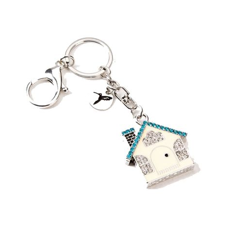 "<p>While a new house key may not be exciting, this gem-encrusted keychain they&nbsp;can&nbsp;put it on sure is.&nbsp;($16.95; <a href=""https://www.papyrusonline.com/gem-house-keychain"" target=""_blank"" data-tracking-id=""recirc-text-link"">papyrusonline.com</a>)</p>"