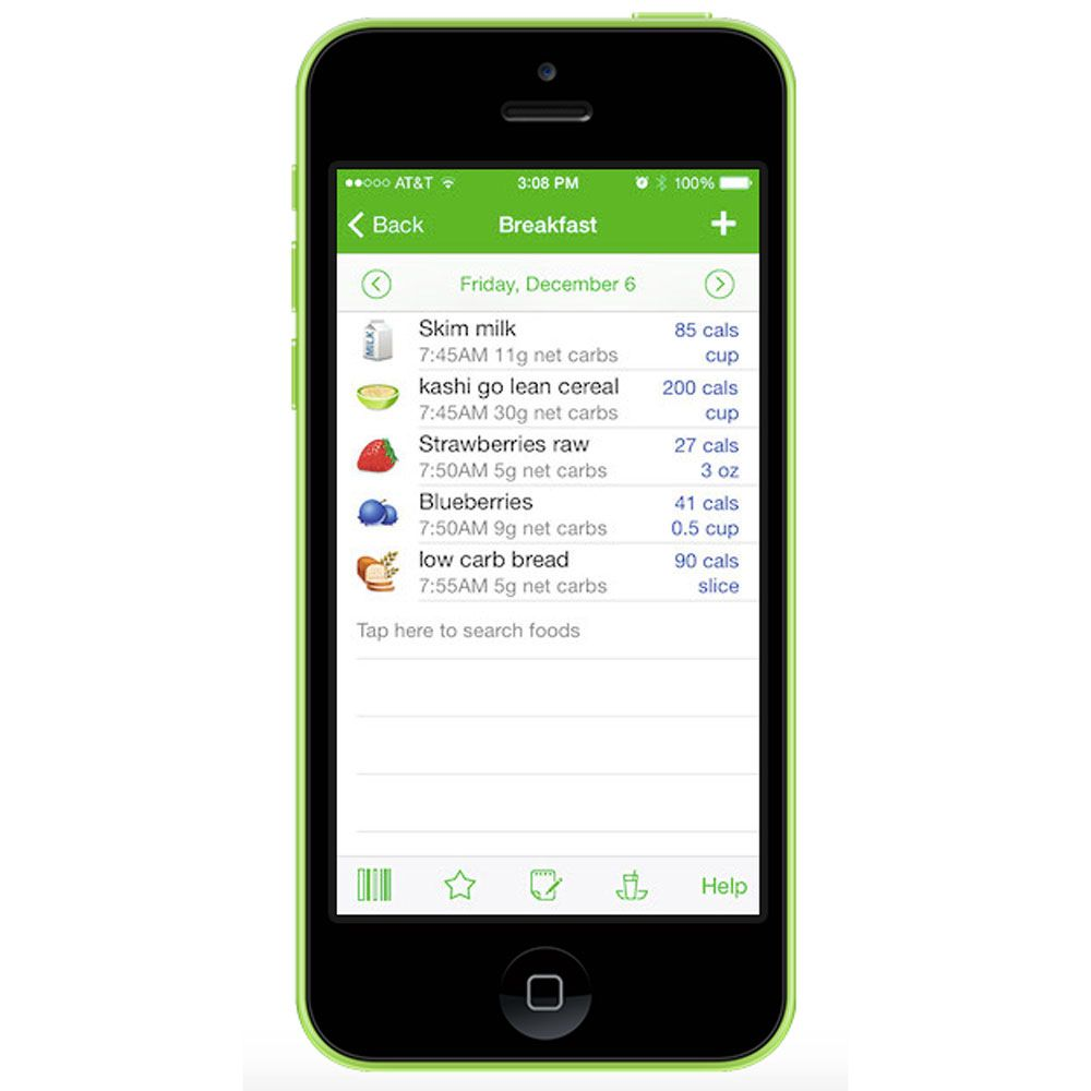 6 top calorie and weight loss apps