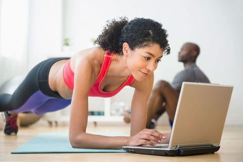 "<p>Thanks to the introduction of Facebook Live, it's easier than ever to access free, live-streaming workouts online, giving you access to the best trainers and the latest trends regardless of where you live — and basically nipping your 	<a href=""http://www.redbookmag.com/body/health-fitness/news/a17544/gym-excuses/"" target=""_blank"" data-tracking-id=""recirc-text-link"">excuse to not work out</a> right in the bud. <a href=""https://lp.dailyburn.com/s2_static/index2.html"" data-tracking-id=""recirc-text-link"" target=""_blank"">DailyBurn</a>, one of the trailblazers for streaming services, also got in the game, introducing <a href=""http://dailyburn.com/365/about""> </a><a href=""http://dailyburn.com/365/about"" data-tracking-id=""recirc-text-link"" target=""_blank"">DailyBurn 365</a> so people can hop into a class as it's going on. </p>  <p>""Live-streaming allows viewers to feel like they're part of the experience, which is different than watching a pre-recorded video,"" says Pete McCall, M.S., C.S.C.S., an exercise physiologist for the American Council on Exercise (ACE). ""It's so common now that watching recorded workouts almost seems passé."" (Though there's really nothing wrong with that, either — stop and start when you want!) Plus, ""actually putting on exercise clothes and <a href=""http://www.redbookmag.com/body/health-fitness/how-to/a45610/yoga-for-beginners-jessamyn-stanley/"" target=""_blank"" data-tracking-id=""recirc-text-link"">sweating in front of strangers can be scary</a> for a number of people,"" says McCall. ""Being able to exercise in private allows them to participate without any perceived embarrassment.""</p>"