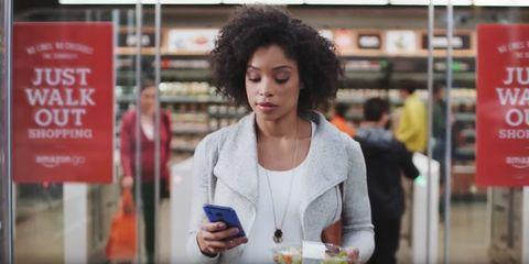 Amazon Go shopping app