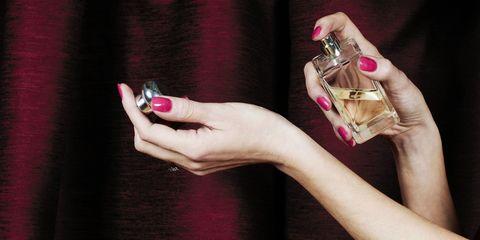 Finger, Nail, Hand, Magenta, Pink, Purple, Wrist, Violet, Manicure, Nail polish,
