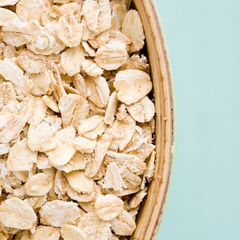 Oatmeal helps a bloated stomach