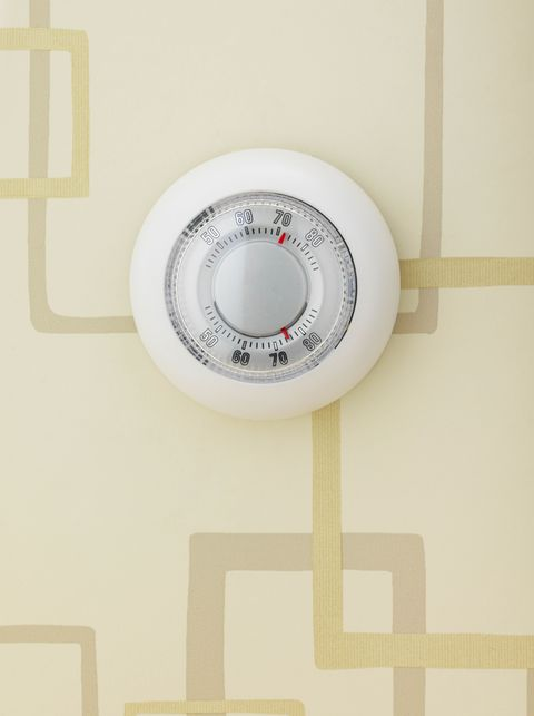 """<p>Studies found that the optimal temperature for sleep is actually pretty cool at 60 to 68 degrees Fahrenheit — so if you keep your home chilly, you might find yourself feeling ready for a <a href=""""http://www.goodhousekeeping.com/home/a34610/things-in-your-house-making-you-tired/"""" target=""""_blank"""" data-tracking-id=""""recirc-text-link"""">nap during the day</a> instead of your jam-packed schedule.</p>"""