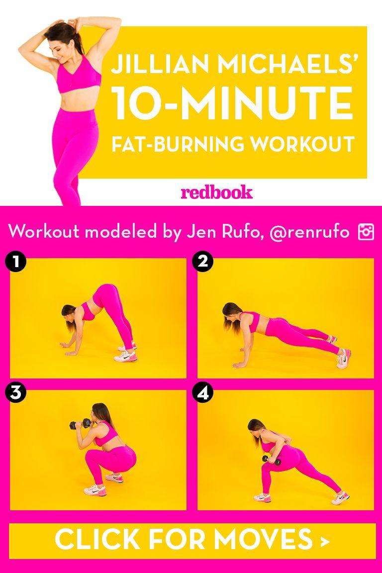 Jillian Michaels' 10-Minute Workout for Weight Loss