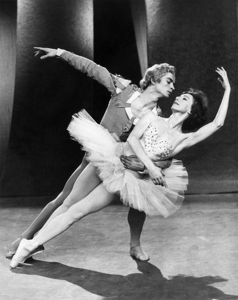 """<p>Russian ballet dancer Rudolf Nureyev dances Jan. 10, 1962, with Rosella Hightower during a dress rehearsal at the BBC television studios in London. They will give the first performance in the West of new Russian choreography for the Grand Pas de Deux from the <em data-redactor-tag=""""em"""" data-verified=""""redactor"""">Nutcracker</em>&nbsp;ballet, which was created specially for Nureyev.&nbsp;<span class=""""redactor-invisible-space"""" data-verified=""""redactor"""" data-redactor-tag=""""span"""" data-redactor-class=""""redactor-invisible-space""""></span></p>"""