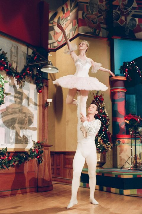 "<p>The Long Beach Ballet performs excerpts from <em data-redactor-tag=""em"" data-verified=""redactor"">The Nutcracker</em> during <em data-redactor-tag=""em"" data-verified=""redactor"">The Tonight Show With Jay Leno</em>.<span class=""redactor-invisible-space"" data-verified=""redactor"" data-redactor-tag=""span"" data-redactor-class=""redactor-invisible-space""></span></p>"