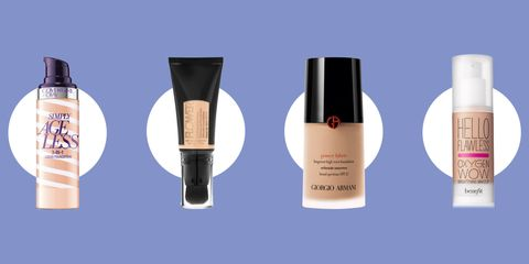 """Foundation isn't exactly the first thing you think of when you hear the phrase """"anti-aging treatments."""" But today's formulations are about more than ..."""