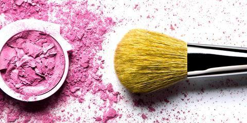 Yellow, Brush, Magenta, Pink, Purple, Colorfulness, Violet, Lavender, Close-up, Paint brush,