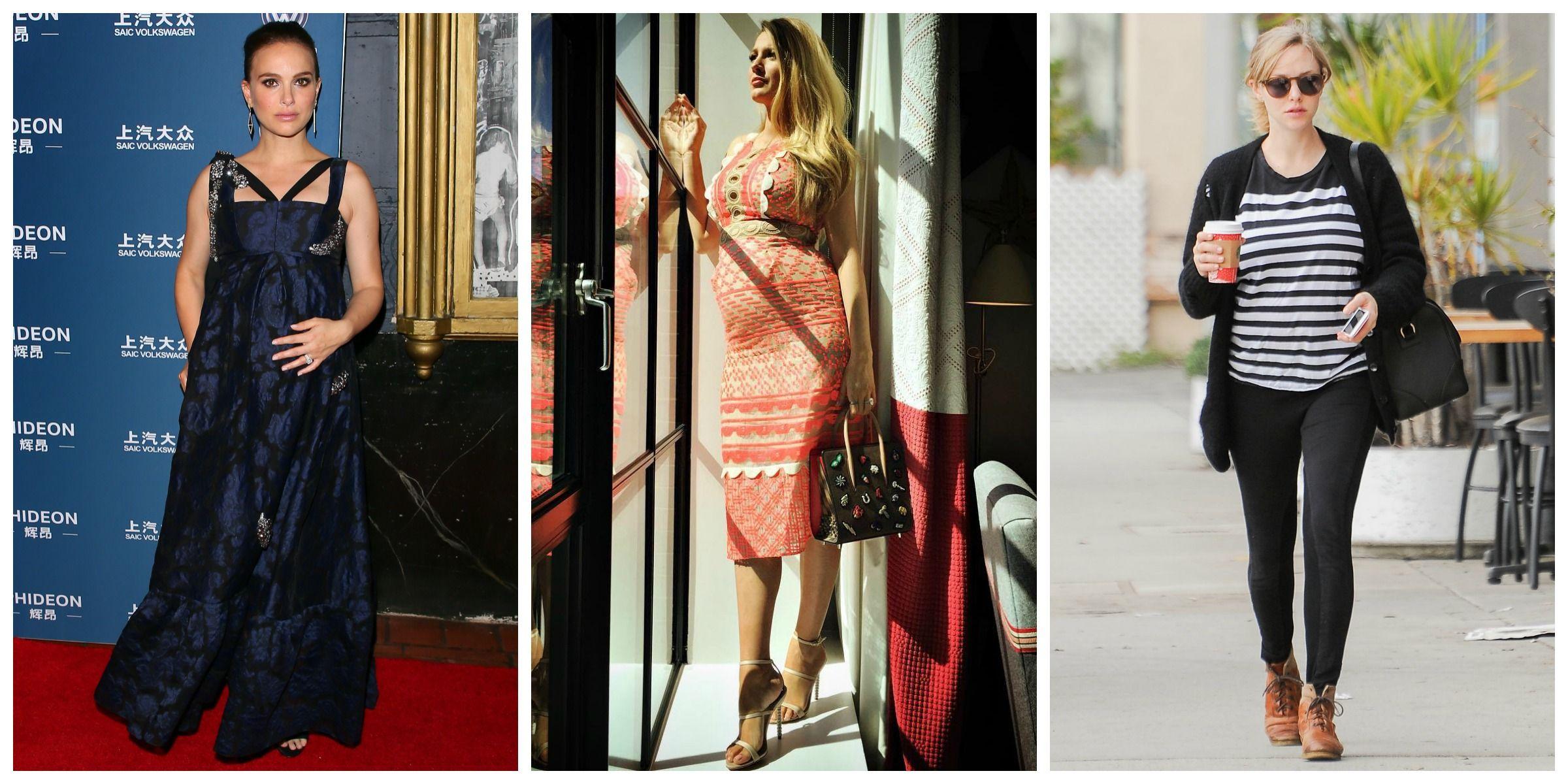 The Best Celebrity Maternity Style