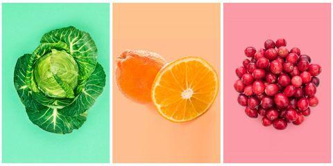 Citrus, Natural foods, Fruit, Orange, Produce, Ingredient, Seedless fruit, Tangerine, Peach, Still life photography,