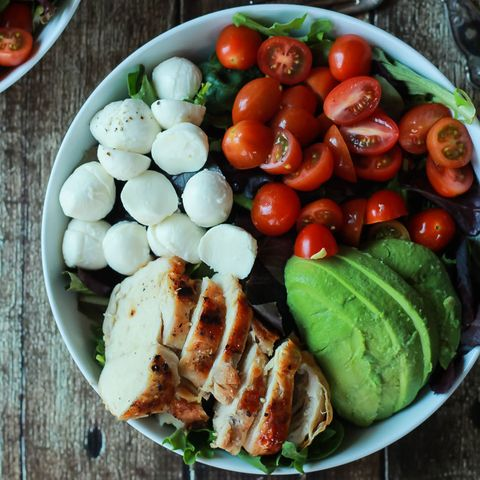 "<p>Healthier than whatever you were going to get delivered from the pizza place, but not any less tasty. See? Salads don't have to suck.</p><p><strong data-verified=""redactor"" data-redactor-tag=""strong"">Get the recipe at <a href=""http://www.joyfulhealthyeats.com/15-minute-avocado-caprese-chicken-salad-with-balsamic-vinaigrette/"" target=""_blank"" data-tracking-id=""recirc-text-link"">Joyful Healthy Eats</a>.</strong><br></p><p><strong data-verified=""redactor"" data-redactor-tag=""strong"">RELATED:&nbsp;<a href=""http://www.redbookmag.com/food-recipes/g3071/make-cooking-easier/"" target=""_blank"" data-tracking-id=""recirc-text-link"">The Top 50 Kitchen Hacks That Just Make Cooking Easier</a><span class=""redactor-invisible-space"" data-verified=""redactor"" data-redactor-tag=""span"" data-redactor-class=""redactor-invisible-space""><a href=""http://www.redbookmag.com/food-recipes/g3071/make-cooking-easier/""></a></span></strong></p>"