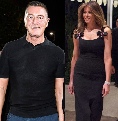 "<p>After Melania wore a Dolce &amp; Gabbana dress on New Year's Eve, the&nbsp;designer proudly <a href=""https://www.instagram.com/p/BOvgiX6BjFo/"" target=""_blank"" data-tracking-id=""recirc-text-link"">posted a&nbsp;photo</a> of the future first lady with the caption, ""Melania Trump&nbsp;#DGwoman&nbsp;❤❤❤❤❤ thank you 🇺🇸&nbsp;#madeinitaly🇮🇹<span class=""redactor-invisible-space"" data-verified=""redactor"" data-redactor-tag=""span"" data-redactor-class=""redactor-invisible-space"">"".</span></p>"