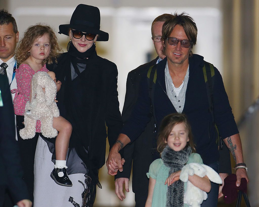 nicole kidman keith urban kids