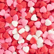 Sweetness, Red, Pink, Pattern, Colorfulness, Confectionery, Heart, Pastille, Gumdrop, Valentine's day,