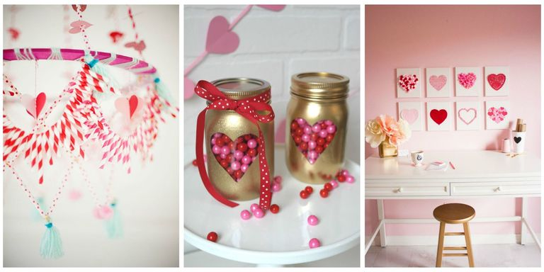 so much better than anything youll find at the party store - Homemade Valentine Decorations