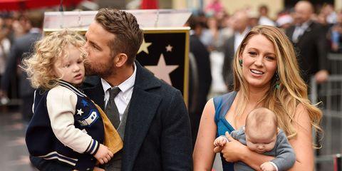Blake Lively Ryan Reynolds Kids