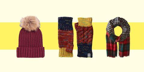 Winter accessories lead
