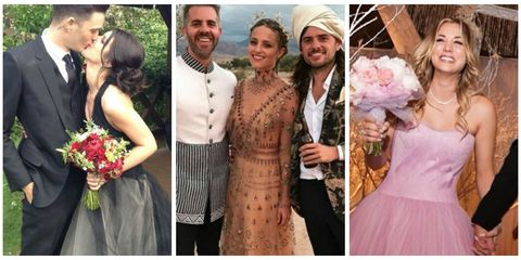Non Traditional Wedding Dress.Celebrity Wedding Dresses Celebrities Who Didn T Wear