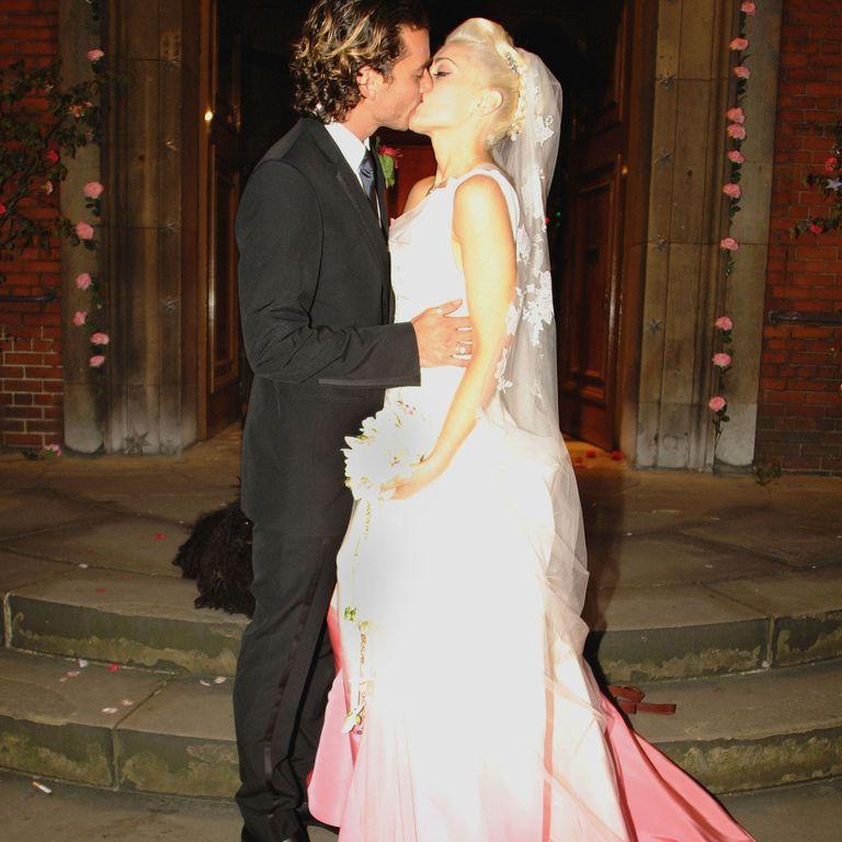 Celebrity Wedding Dresses - Celebrities Who Didn\'t Wear White ...
