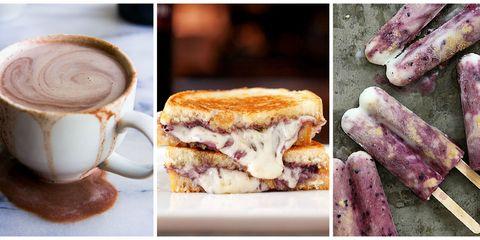 Serveware, Coffee cup, Drinkware, Food, Drink, Cup, Ingredient, Purple, Cuisine, Single-origin coffee,