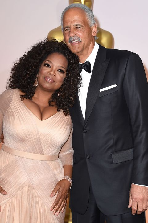 "<p>The famous talk show host has been with her longtime boyfriend since 1986. At one point, they were even engaged to be married, but never went through with an official ceremony. Oprah has said <a href=""http://www.etonline.com/news/197289_oprah_responds_to_rumors_she_marrying_stedman_after_close_friends_start_to_congratulate_her/"" target=""_blank"" data-tracking-id=""recirc-text-link"">she ""doesn't want to be married.""</a></p>"