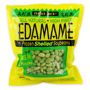 """<p>The whole bag contains about 400 calories, so you don't have to feel guilty about binging on these beans. Just heat 'em up and add a bit of salt.</p><p><em data-redactor-tag=""""em"""" data-verified=""""redactor"""">$1.69 for 12 oz.</em></p>"""