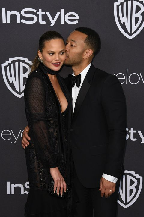 "<p><strong data-redactor-tag=""strong"" data-verified=""redactor"">Wife:</strong> Chrissy Teigen</p><p><strong data-redactor-tag=""strong"" data-verified=""redactor"">Married since: </strong>2013 (together since 2007)</p><p>Legend <a href=""http://www.cbsnews.com/news/john-legend-talks-wife-chrissy-teigen-as-inspiration-friend-kanye-west-and-the-state-of-rb/"" target=""_blank"" data-tracking-id=""recirc-text-link"">on the first time&nbsp;Teigen heard ""All of Me,""</a> the song he wrote for her: ""She loved it.&nbsp;And she cried when she first heard it. I sang it to her. I just whispered it to her when we were at home. I wasn't even at the piano. I was just, like, excited about it. I didn't even have the recording yet. […] It was late and I was like, 'You just have to hear this song' And I sang it to her and she just started crying.""<span class=""redactor-invisible-space"" data-verified=""redactor"" data-redactor-tag=""span"" data-redactor-class=""redactor-invisible-space""></span></p>"