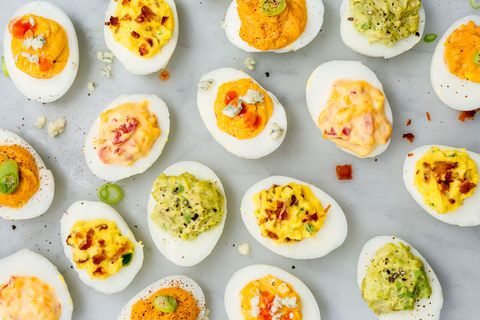 "<p>We all know deviled eggs are party classics because they're the epitome of faux-fancy, but when it comes to celebrating someone entering another year of life, you don't want to ring it in with jiggly egg cups full of yolky mayo. It's time we all realized eggs belong at &nbsp;breakfast, not at a party.<span class=""redactor-invisible-space"" data-verified=""redactor"" data-redactor-tag=""span"" data-redactor-class=""redactor-invisible-space""></span></p>"