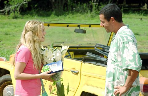 <p>They first joined forces in <em>The Wedding Singer</em> (1998) as two young souls just trying not to fall in love, before reuniting in <em>50 First Dates</em> (2004) where he played a persistent suitor and she an, um, forgetful lady. The trifecta was complete in 2014, when they starred in <em>Blended </em>about two single parents who end up falling in love. </p>