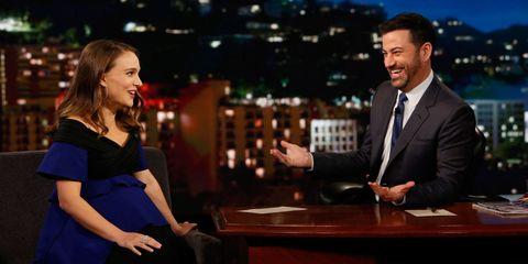 Natalie Portman on Jimmy Kimmel Live
