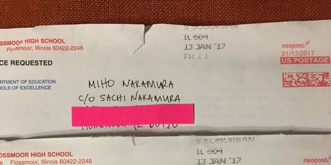Miho Nakamura Letters to Future Self