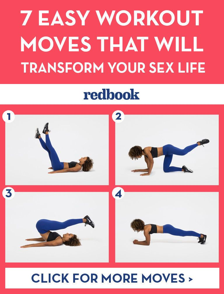 Exercise workout sex