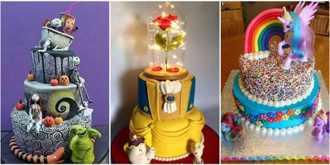 Over The Top Kids Birthday Cakes Elaborate For