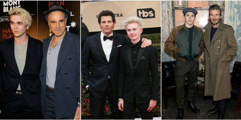 hot celeb dads with lookalike sons