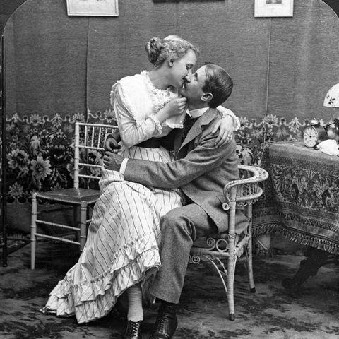 1900s couple