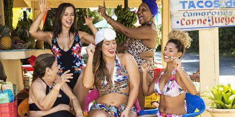 Face, Arm, Smile, Fun, Hand, Happy, Facial expression, Brassiere, Bikini, Summer,