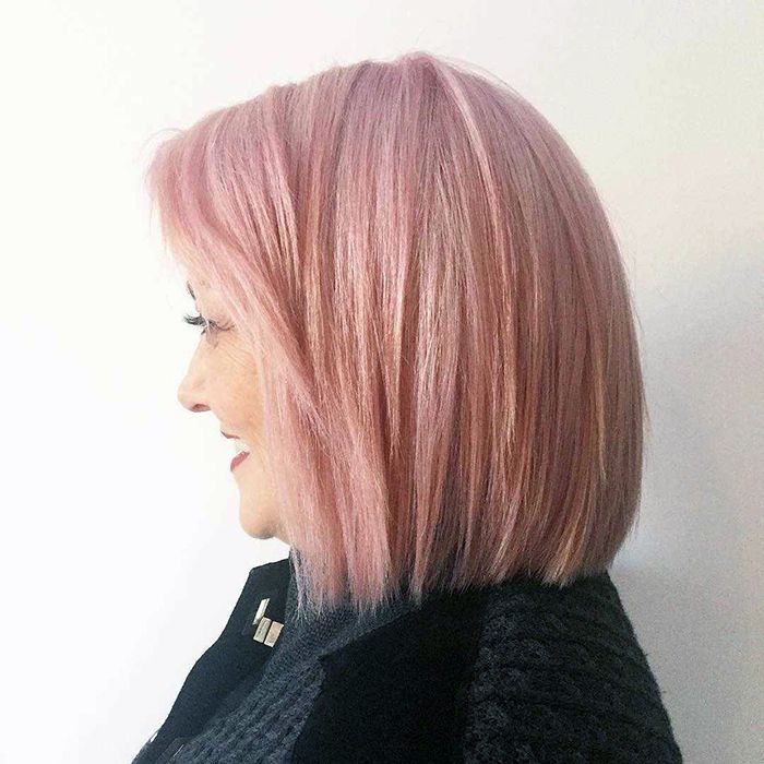 pink hair for grown-ups